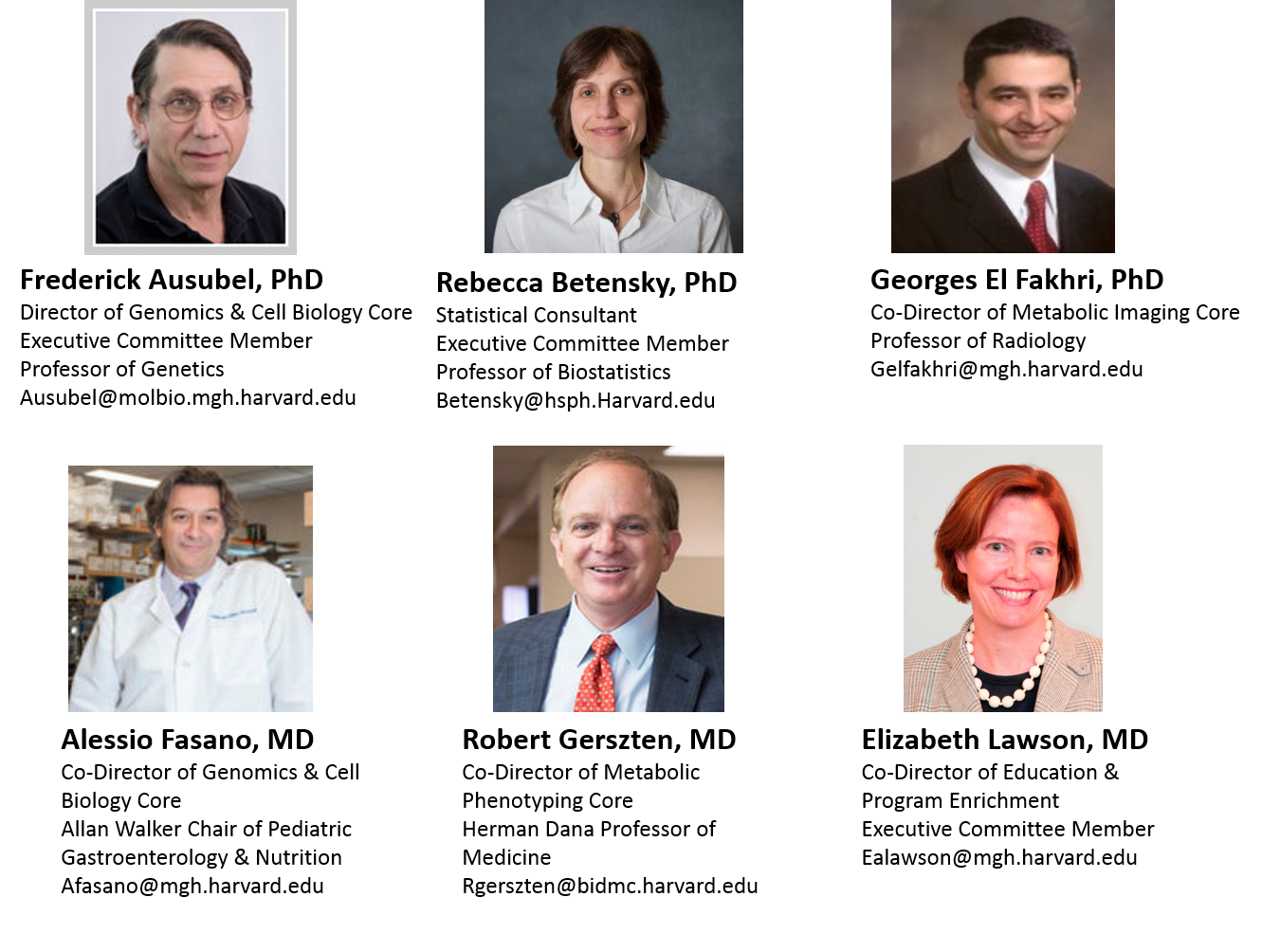 Center Leadership   Nutrition Obesity Research Center at Harvard
