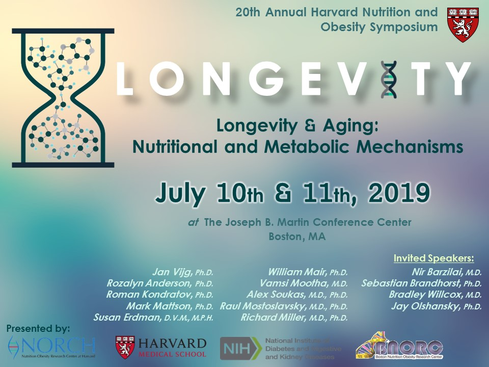 2019- Longevity & Aging: Nutritional and Metabolic